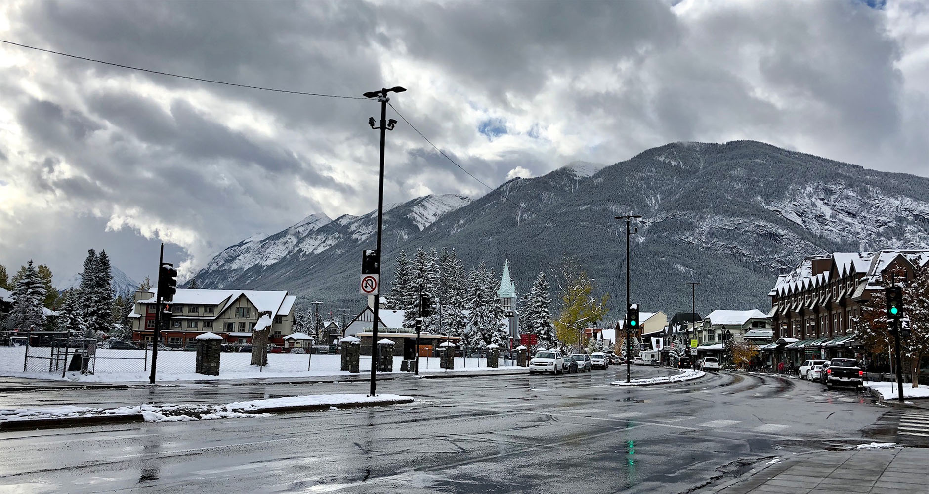 The lovely town of Banff