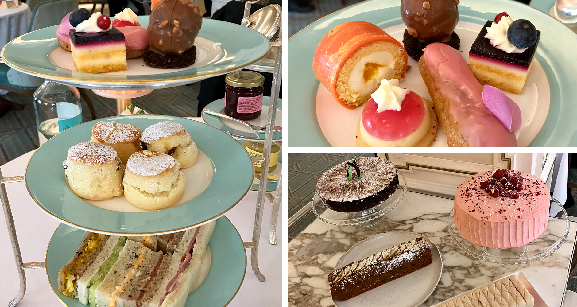 Traditional afternoon tea at Fortnum & Mason