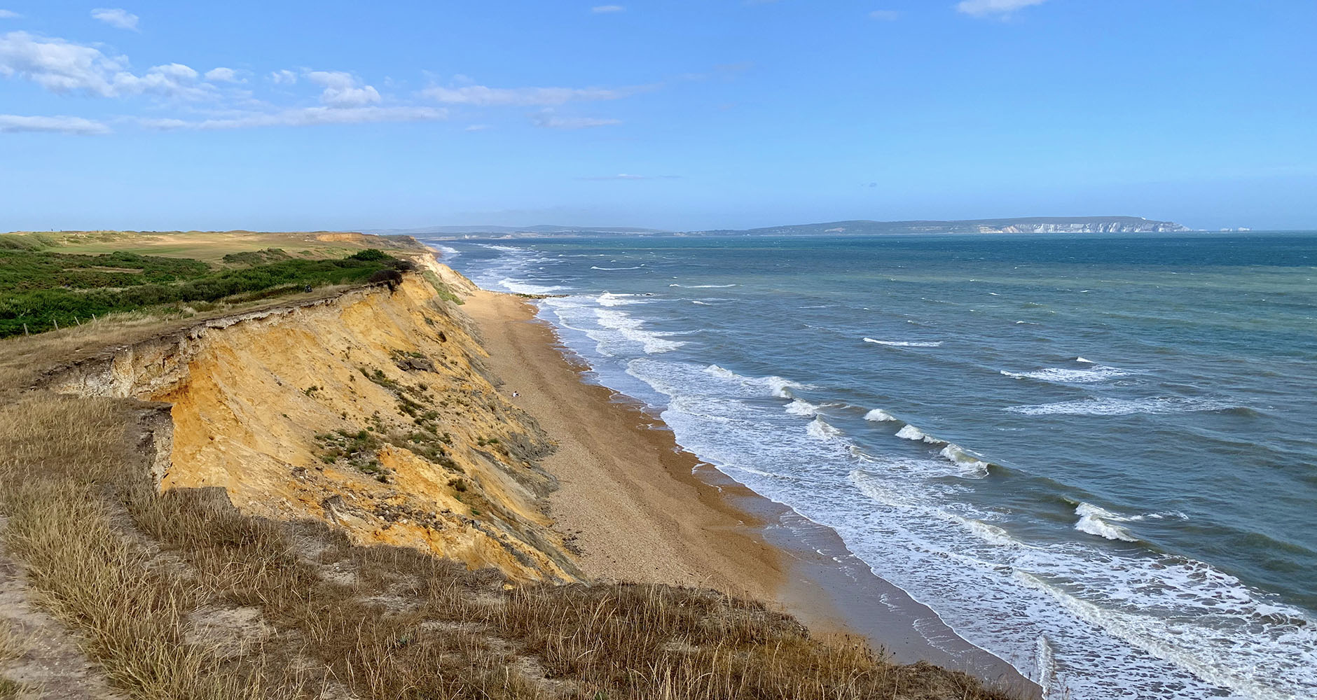 The best beach views on the Barton-on-Sea cliff tops