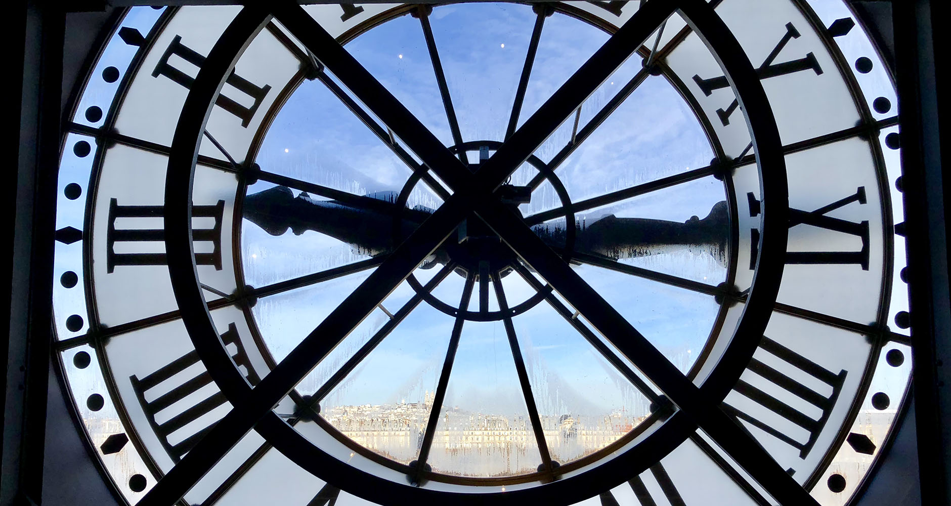 The clocktower in Musée D'Orsay
