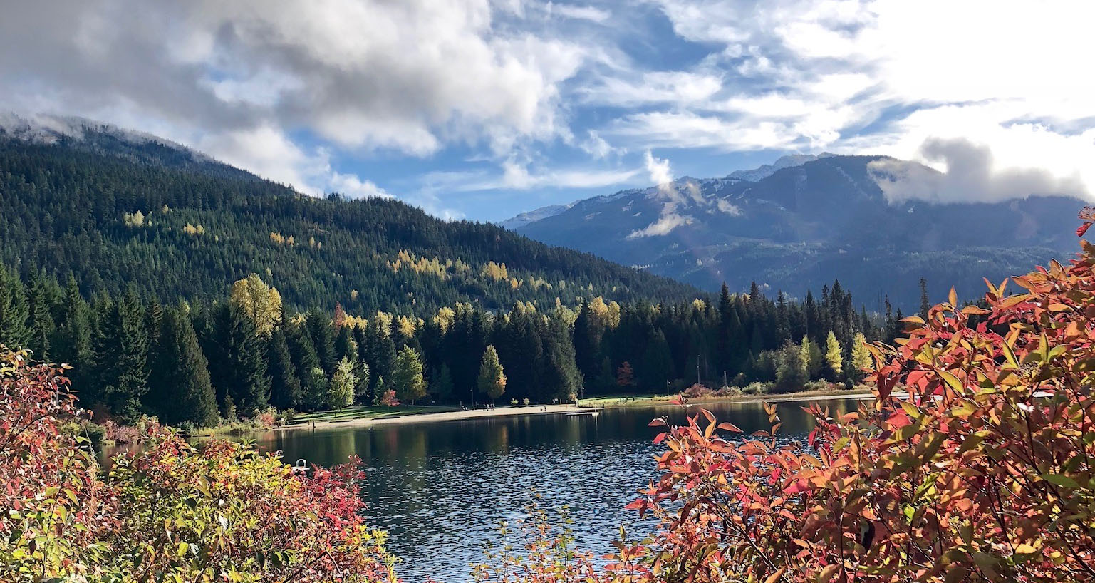Lost Lake in Whistler, Canada
