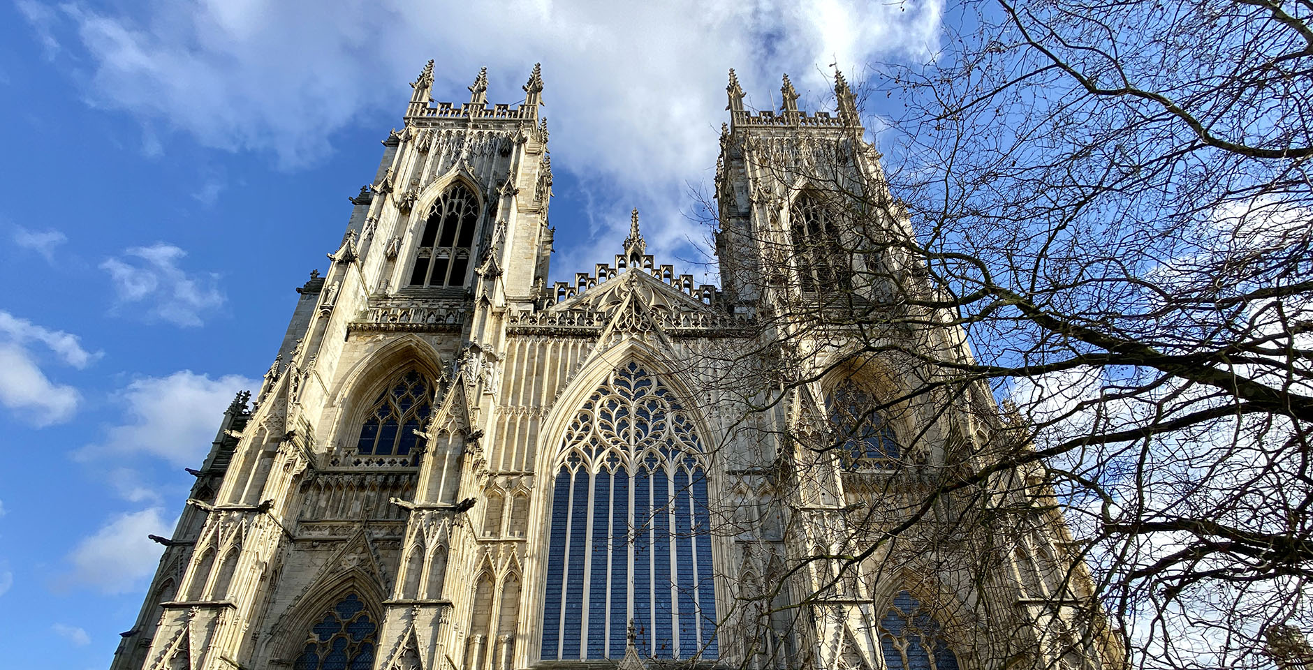 The famous Gothic cathedral York Minster