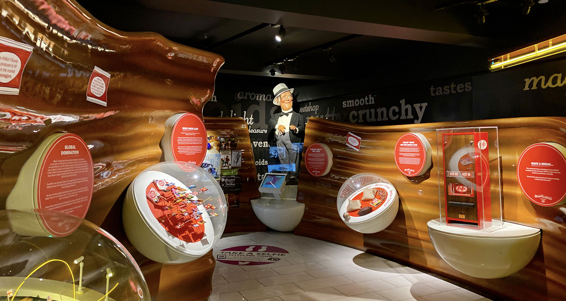 The KitKat exhibition at York's Chocolate Story