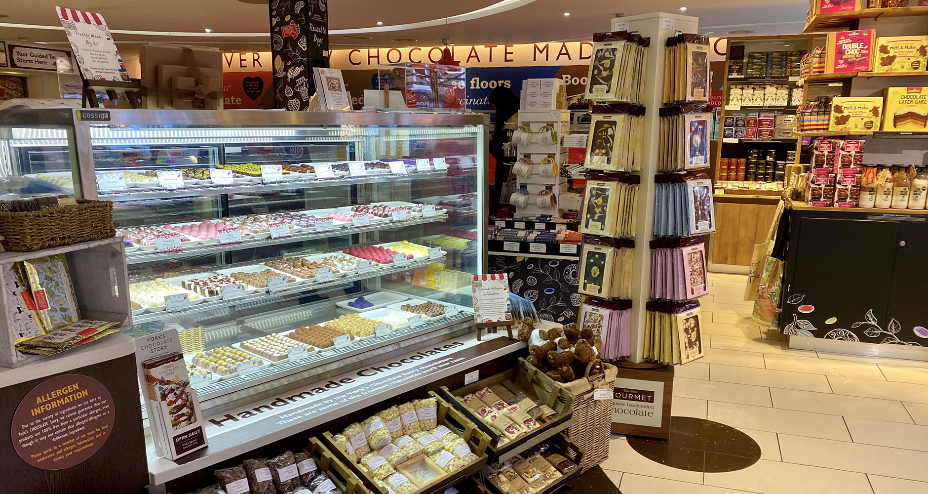 A chocoholics dream; York's Chocolate Story